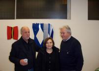 Roberto Vecchione, Laura e Gianfranco Nicolato
