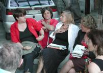 vernissage: Valeria Vaccari, Irina Schwarz, Cristina Rossi, Mimma Pasqua
