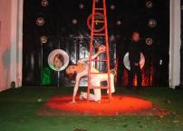Performance di Pino Lia e Valeria Coen