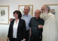 Gabriella Brembati, Stefano Soddu, Arnaldo Pomodoro e Coletta