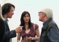 Roberto Vecchione con la moglie