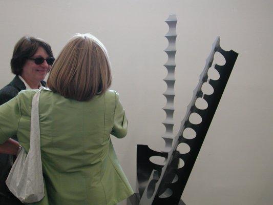 Vernissage, scultura Vecchione