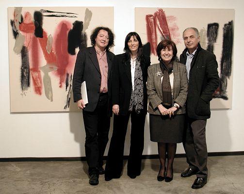 Vernissage: Claudio Cerritelli, Giovanna Fra, Gabriella Brembati e Stefano Soddu