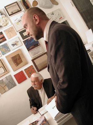 Gualtiero Mocenni e Simone Beck