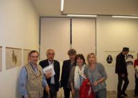 Orazio Bacci, Alvaro, Gaetano delli Santi, Christoph, Gabriella, e Cristina Rossi