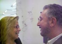 Cristina Rossi e Lucio Perna