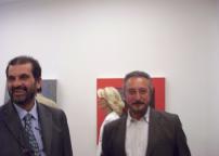 Lucio Perna, Maria Melloni e conoscente