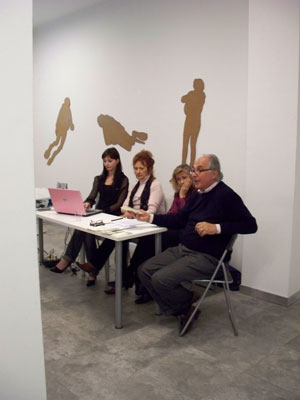 Roberta Vecchione, Mariangela De Maria, Cristina Rossi, Stefano Soddu
