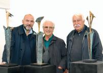 Simone Beck, Franco Zazzeri e Gualtiero Mocenni