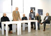 Walter Valentini, Miklos Varga, Franco Zazzeri, Gabriella Brembati, Carlo Nangeroni e Alvaro