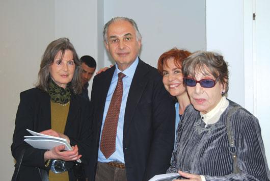 Laura Guarino, Stefano Soddu, Grazia Gabbini, Anita Sanesi