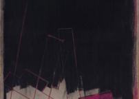CALCHI NOVATI - attuante - gesso su tela su cartone - 2000 - cm 110 x 83