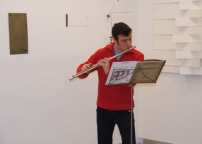 Flautista Giovanni Quaglia