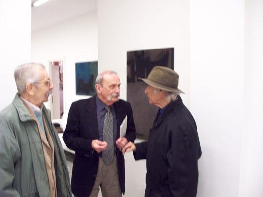 Miklos N.Varga, Ludovico Calchi Novati e Giovanni Campus