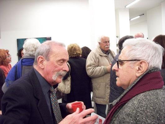 Ludovico Calchi Novati, WalterMocenni e Sergio Dangelo