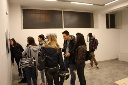 Vernice della mostra Premio Boccioni 2009