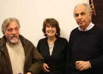 Glauco Mambrini, Gabriella Brembati e Stefano Soddu