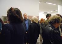 Luciano Caramel al vernissage